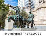 Statues Of Don Quixote And...