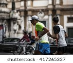 palermo  italy   november 10... | Shutterstock . vector #417265327