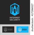 business icon   vector logo... | Shutterstock .eps vector #417286027