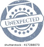 unexpected grunge style stamp | Shutterstock .eps vector #417288073