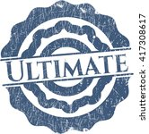 ultimate with rubber seal... | Shutterstock .eps vector #417308617