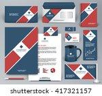 professional universal branding ... | Shutterstock .eps vector #417321157