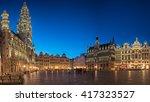 brussels  belgium   20 april ... | Shutterstock . vector #417323527