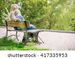 Elderly Couple Resting At The...