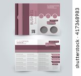 abstract flyer design... | Shutterstock .eps vector #417368983