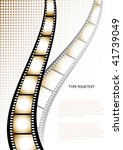 film strip background with... | Shutterstock .eps vector #41739049
