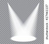 two vector transparent... | Shutterstock .eps vector #417461137