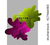 vector abstract color cloud. ... | Shutterstock .eps vector #417466483