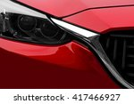 front view of a fictive car.... | Shutterstock . vector #417466927