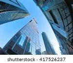 the complex of skyscrapers  ... | Shutterstock . vector #417526237