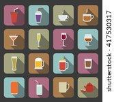 drink icon | Shutterstock .eps vector #417530317