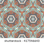 abstract vintage graphic... | Shutterstock .eps vector #417546643