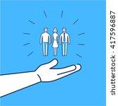 conceptual vector conservative...   Shutterstock .eps vector #417596887