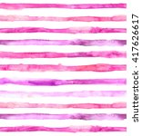 watercolor striped seamless... | Shutterstock . vector #417626617