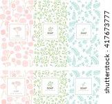 vector set of design elements...   Shutterstock .eps vector #417673777