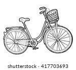 bicycle vector. vintage bike...