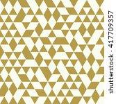 seamless golden pattern of... | Shutterstock .eps vector #417709357