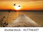 sun in the sea | Shutterstock . vector #417746107