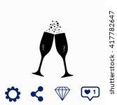 champagne icon. universal icon...