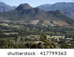 franschhoek western cape south...   Shutterstock . vector #417799363