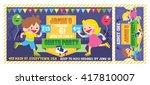 a vector illustration kids... | Shutterstock .eps vector #417810007