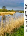 Small photo of River Weaver in West Cheshire UK