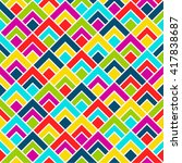 seamless pattern background.... | Shutterstock .eps vector #417838687