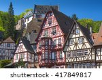 Half Timbered Houses In...