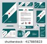professional universal branding ... | Shutterstock .eps vector #417885823