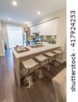 interior design of a luxury... | Shutterstock . vector #417924253