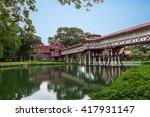 sanam chan palace   nakhon...   Shutterstock . vector #417931147