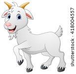 cartoon goat character | Shutterstock .eps vector #418004557
