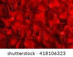 Stock photo rose petals closeup 418106323