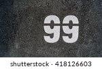 number... | Shutterstock . vector #418126603