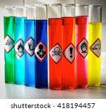 aligned chemical danger...