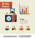 technology retroinfographic...   Shutterstock .eps vector #418340887