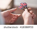 ready to play. close up of... | Shutterstock . vector #418388953