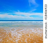 Ocean  Picturesque Beach And...