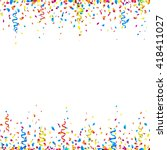 celebration background with... | Shutterstock .eps vector #418411027