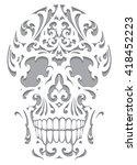 Skull Illustration In Art...