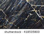 gold yellow patterned natural... | Shutterstock . vector #418535803