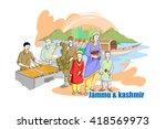 easy to edit vector... | Shutterstock .eps vector #418569973