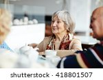 tea time | Shutterstock . vector #418801507