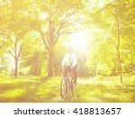 conservative businessman... | Shutterstock . vector #418813657