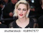 kristen stewart attends the ... | Shutterstock . vector #418947577
