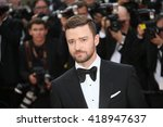 justin timberlake attends the ... | Shutterstock . vector #418947637