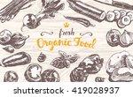 hand drawn vector illustration... | Shutterstock .eps vector #419028937