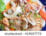 yam wun sen  thai mung bean... | Shutterstock . vector #419057773