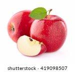 apples with slice   Shutterstock . vector #419098507