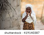 editorial use. even facing poor ... | Shutterstock . vector #419140387
